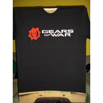Playera Gears Of War Aerografia