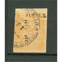 Sc 23 Aguila Del Iv Periodo 2 Reales Año 1865 138 Puebl
