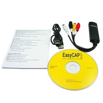 Tarjeta Capturadora Usb Easy Cap Rca 2.0 S-video Rca Dvd
