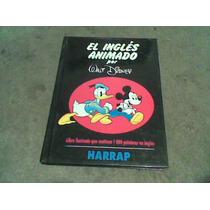 Libro El Ingles Animado De Disney Año 1994