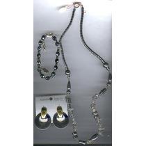 Collar De Acerina Y Cuarzo /envio Gratis