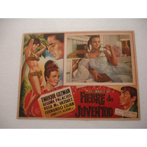 Enrique Guzman , Fiebre De Juventud , Cartel (lobby Card)