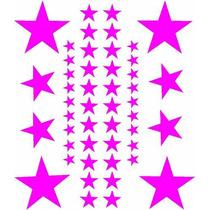 Jgo De 48 Calcomanias En Forma De Estrella