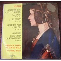 Clasica, Antonio Vivaldi, Conciertos Para Flauta Y Orquesta