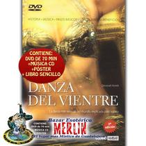 Danza Del Vientre - Dvd 70min, Cd De Música, Libro Sencillo