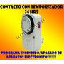 Contacto C/temporizador 24h, Encend/apag Automat De Aparatos