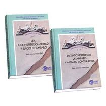 Serie Amparo Contra Leyes 2 Vols Ed Iuere Editores