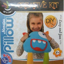 Kit Pillow - D-juguetes Monster Creativo Aprender Enseñar A