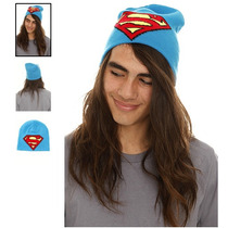 Hot Topic Gorro Dc Comic Superman Logo Beanie