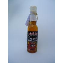 Aceite De Chile Habanero Aceite Vegetal Añejado 150 Ml