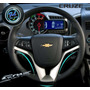 Embellecedor Deportivo Para Volante Chevrolet Sonic Cruze ,