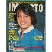 Luis Miguel, Revista Impacto