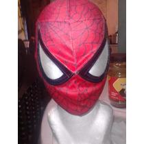 Mascara De Spiderman P/niño. Hombre Araña.