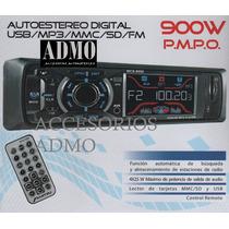 Auto Estereo 9950 Usb Sd Auxiliar Fm Super Oferta Del Mes!!