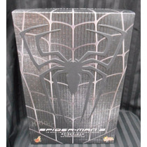 Hot Toys Spider Man Black Suit Version Mms165 Hombre Araña