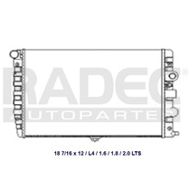 Radiador Pointer 97-10 L4 1.8 Lts Estandar