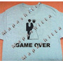Playera Game Over Recuerdo Boda Y Despedida De Solteros Mdn