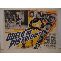 Luis Aguilar , Duelo De Pistoleros , Cartel De Cine