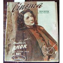 Revista,cinema Reporter,maria Felix En Portada 1944