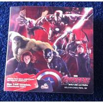 Tarjetas Sueltas Avengers De Sabritas