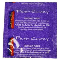 12 (doce) Condones Impulse Plum Crazy Preservativos