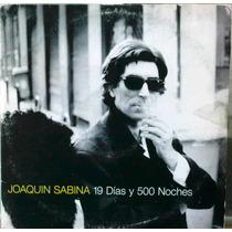 Joaquin Sabina 19 Dias 500 Noches Cd Sencillo Mexicano 1999