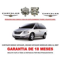 Bomba Licuadora Direccion Hidraulica Chrysler Voyager 01-07