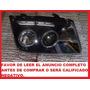 Faro Deportivo Para Volkswagen Jetta A4 Con Lupa Angel Eyes