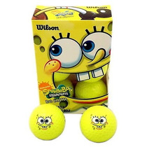 Bob Esponja Pelotas De Golf Wilson Paquete Con 6