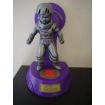 Figura Dragon Ball Z Plateada C/base Mide 14 Cms