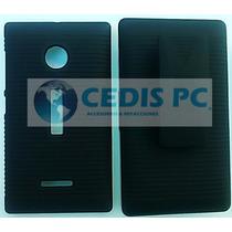 Funda Clip (holster Case Combo) Nokia Lumia 532 Mica Gratis