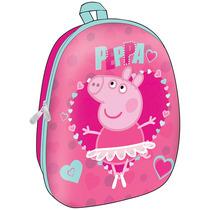 Mochila Escolar 14 De Moda Peppa Pig Pp51918ad Rosa Urbania