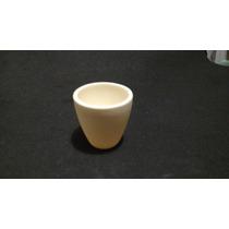 Crisol Conico De Alumina 99.98% De Pureza Hasta 1750°c