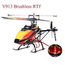 Helicoptero Wl Toys, V 913 Motor Brushless 70 Cm Largo