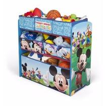 Organizador De Juguetes Juguetero Recamara Mickey Mouse
