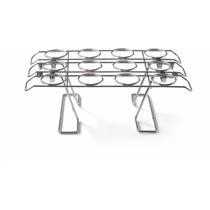 Exhibidor Conos Rack Para 12 Cono Nieve Metalico Barquillos