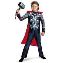 Disfraz Thor Talla 4/6 Años Original Entrega Inmediata
