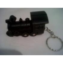 Llavero Tren Locomotora Ferrocarril Coleccionables Antiguos