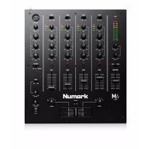 Numark M6usb Black Dj Mixer 4 Canales
