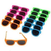 Deslumbrantes Juguetes Neon Party Color Sunglasses-12 (d231)