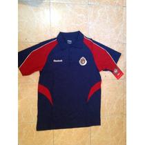 Chivas Reebok Playera Polo Talla S,m,l Nueva Original