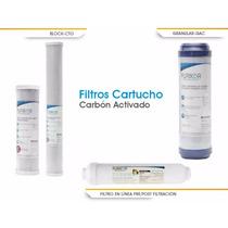 Filtro, Cartucho, Repuesto Carbón Activado Granular 10 X2.5
