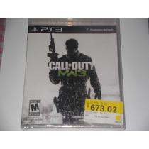 Call Of Duty Mw3 Nuevo Con Descuento En Gamekiosko