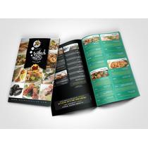 Tripticos, Dipticos, Carta, Diseño Gratis Publicidad,calidad