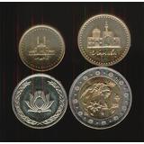 Coleccion De 4 Monedas De Iran