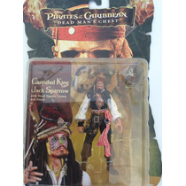 Piratas Del Caribe Jack Sparrow Cannibal King - Nuevo
