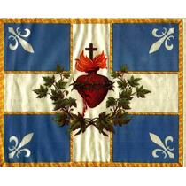 Lienzo Tela Sagrado Corazón De Jesús 50 X 62 Cm Arte Sacro