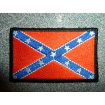 Bandera Bordada Confederados Parche Escudo