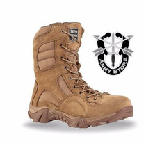 Bota Swat Original Modelo Rd 707 Tactical Gear Kaki