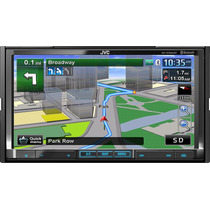 Jvc Kw-nt800hdt 7 Touchscreen Cd/dvd/mp3/gps Bluethoot